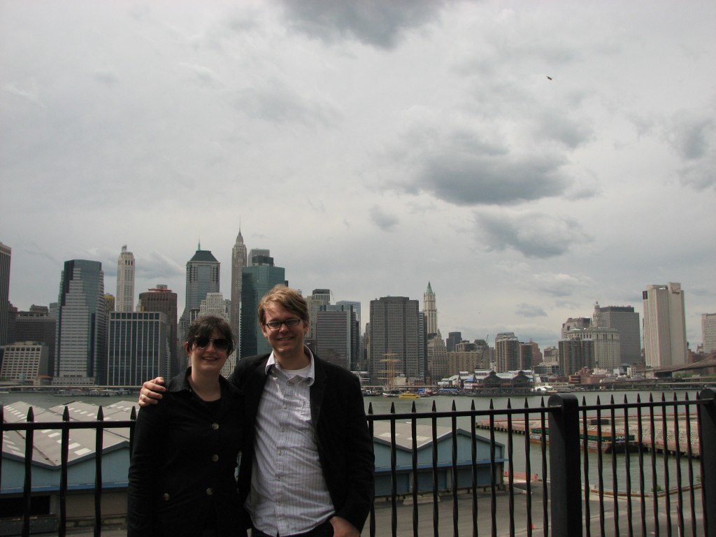 At the Brooklyn Promenade, 2008