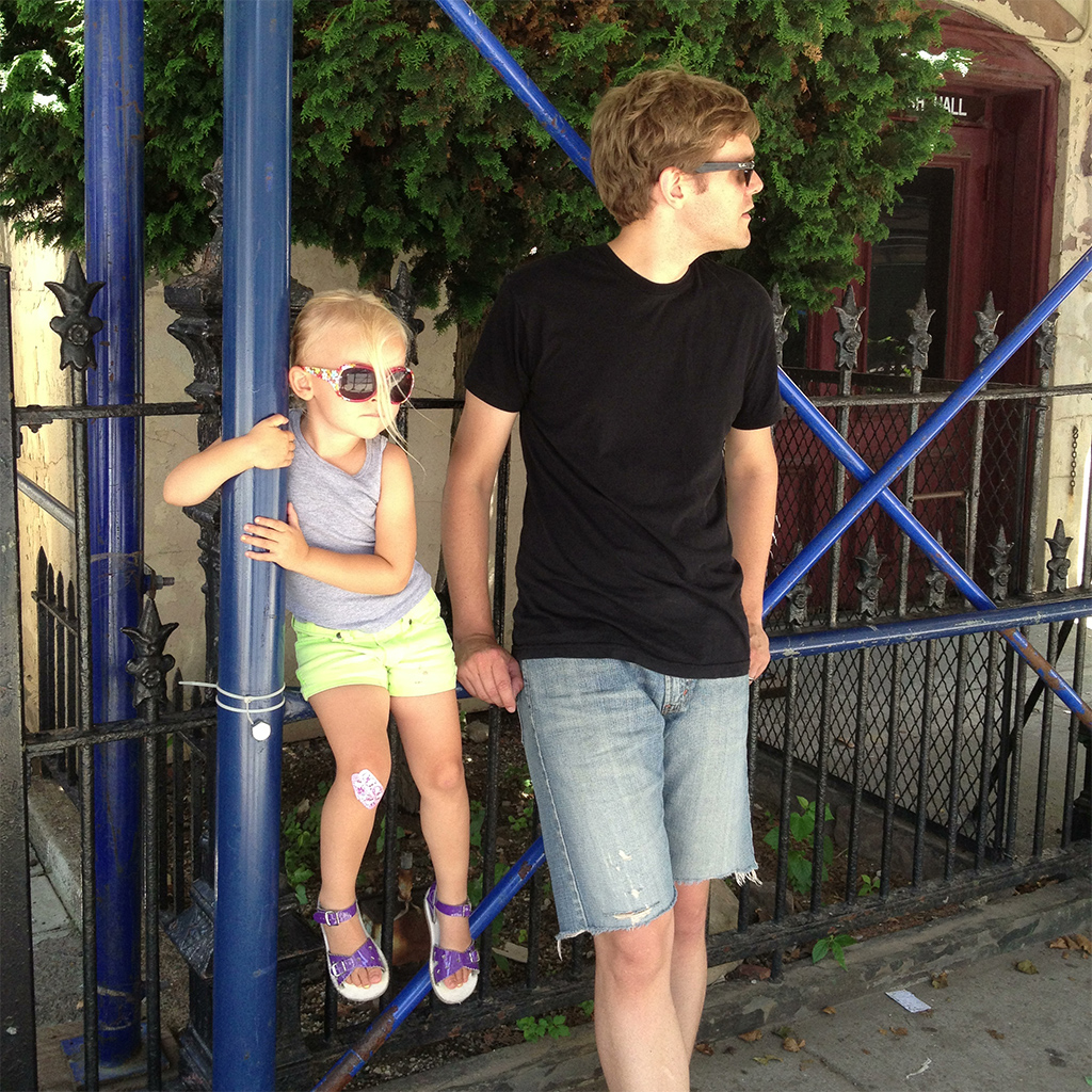 Waiting for the bus, Weekend #7, Summer 2013