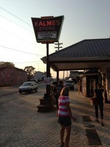 $2 burger night at Kalmes, Bellevue, IA