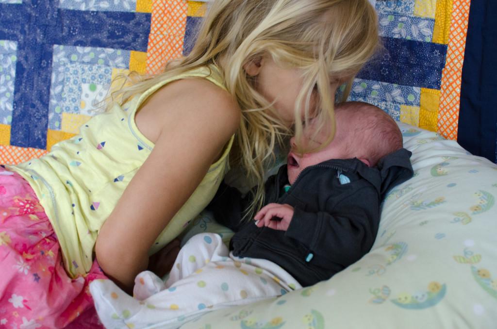Charlotte kissing Wilder